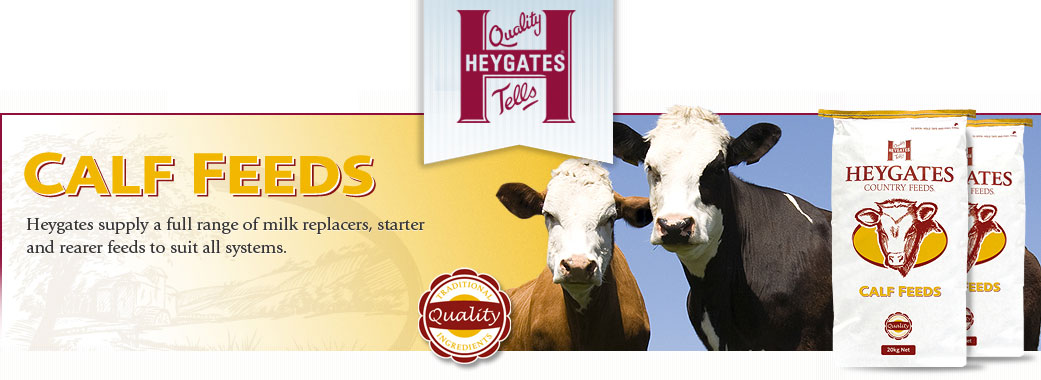 Heywoods Calf Feed Suppliers in Yorkshire