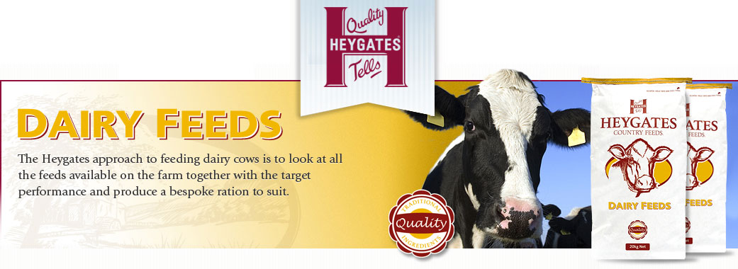 Heywoods Dairy Feed Suppliers in Yorkshire