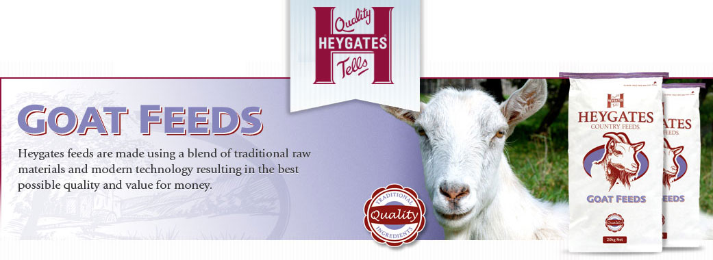 Heywoods Goat Feed Suppliers in Yorkshire
