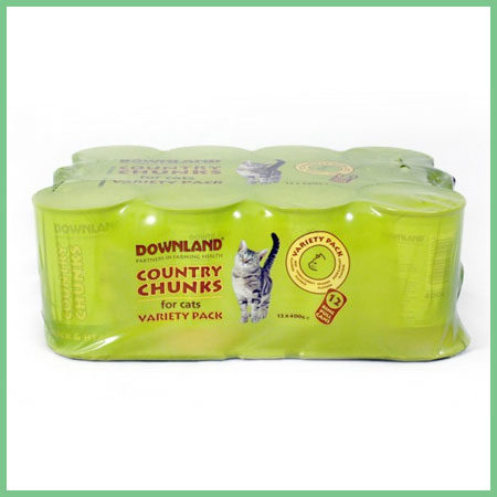 Downland Country Chunks Cat Food
