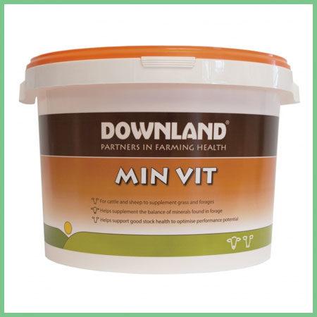 Downland Min Vit