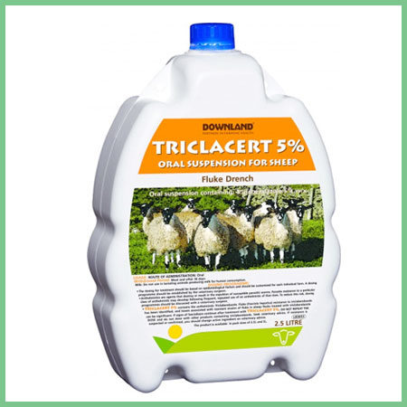 Downland Triclacert 5% Fluke Drench for sheep