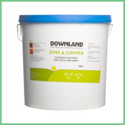 Downland Zinc and Copper Footbath