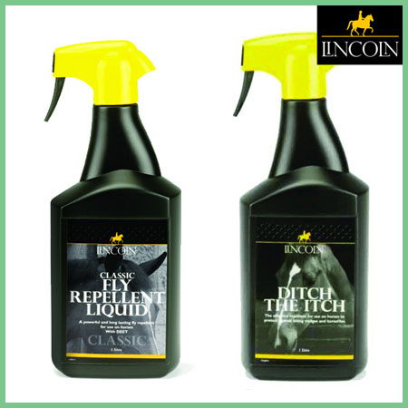 Lincoln Twin Pack Classic Fly Repellent and Ditch the Itch