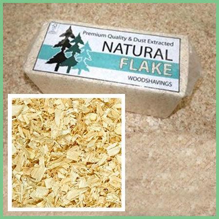 Natural Flake Shavings Horse Bedding