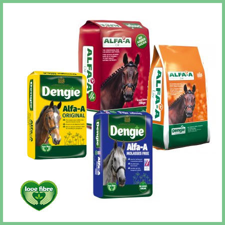 Dengie Alfa-A Range horse feed products