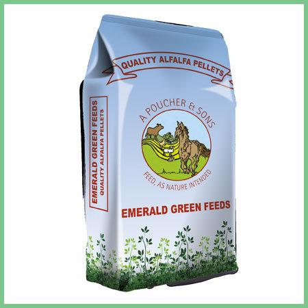 Emerald Green Feeds Alfalfa Pellets