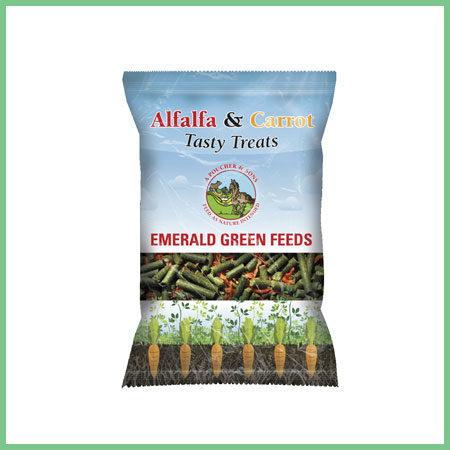 Emerald Green Feeds Tasty Treats Alfalfa and Carrot